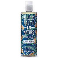 Faith in Nature Blue Cedar Uplifting Body Wash - 400ml