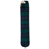 Aroma Home So Long Hot Water Bottle - Green Tartan
