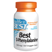 Best D-Phenylalanine - 60 x 500mg Vegicaps