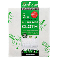 Maistic Plastic Free All Purpose Cloth - 5 Pack