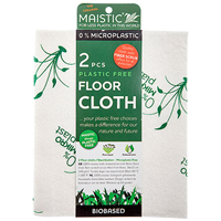 Maistic Plastic Free Floor Cloth - 2 Pack