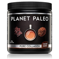 Planet Paleo Cacao Magic Pure Collagen - 264g Powder