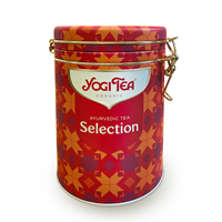 Yogi Tea Ayurvedic Collection Metal Tea Caddy - 30 Sachets