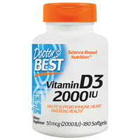 Best Vitamin D3 2000iu - 180 Softgels
