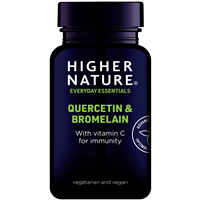 Quercetin and Bromelain with Vitamin C - 60 Tablets
