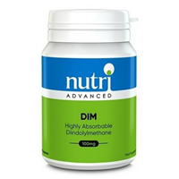 Nutri Advanced DIM - Highly Absorbable Diindolylmethane - 90 x 100mg Capsules