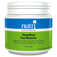 Nutri Advanced MegaMag Fem Balance - Citrus Orange - 306g