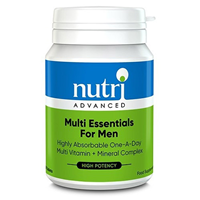 Nutri Advanced Multi Essentials for Men - 30 Tablets