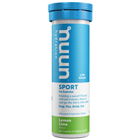 Nuun Sport 10 Effervescent Hydration Tablets - Lemon + Lime Flavour