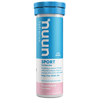 Nuun Sport 10 Effervescent Hydration Tablets - Strawberry Lemon Flavour