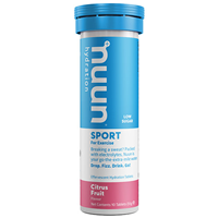 Nuun Sport 10 Effervescent Hydration Tablets - Citrus Fruit Flavour