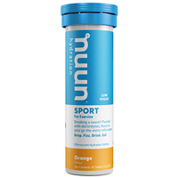 Nuun Sport 10 Effervescent Hydration Tablets - Orange Flavour