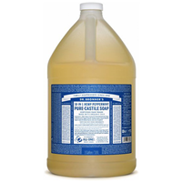 Dr Bronner`s 18-in-1 Peppermint Pure-Castile Liquid Soap Refill - 3.8 Litre