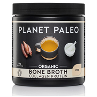 Planet Paleo Pure Bone Broth Collagen Protein - 225g Powder