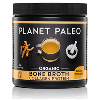 Planet Paleo Golden Turmeric Bone Broth Collagen Powder - 225g