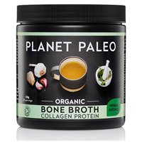 Planet Paleo Herbal Defence Bone Broth Collagen Protein - 225g