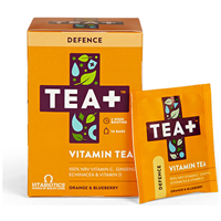 TEA+ Defence Orange & Blueberry Vitamin Tea - 14 Teabags