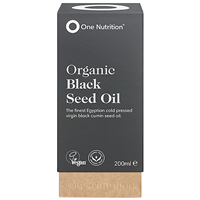 One Nutrition Organic Black Seed Oil - 200ml