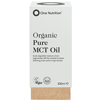 One Nutrition Organic Pure MCT Oil - 300ml