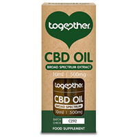 Together CBD Oil  500mg - 10ml