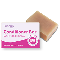 Friendly Soap Lavender & Geranium Conditioner Bar - 95g
