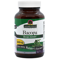 Nature`s Answer Bacopa - 90 x 500mg Vegicaps