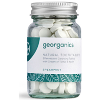 Georganics Natural Toothpaste Tablets Spearmint Flavour - 120 ToothTablets