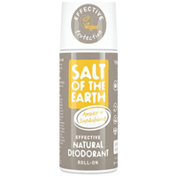 Salt of the Earth Amber & Sandalwood Natural Roll-On Deodorant - 75ml