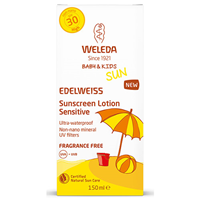 Weleda Baby & Kids Edelweiss Sunscreen Lotion Sensitive SPF 30 - 150ml