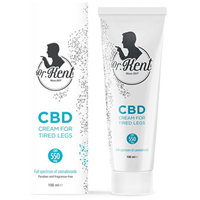 Dr. Kent Cream with CBD for Tired Legs - 100ml