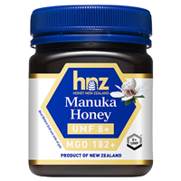 Honey New Zealand Manuka Honey UMF 8+ MGO 182+ - 250g
