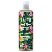 Faith in Nature Wild Rose Restoring Shampoo for Normal to Dry Hair - 400ml