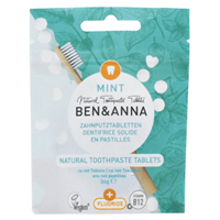 Ben & Anna Mint Toothpaste Tablets with Fluoride - 36g