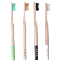 F.E.T.E. Firm Bamboo Toothbrushes - Multipack
