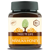 Tree of Life Multifloral Manuka Honey 85+ MGO - 250g