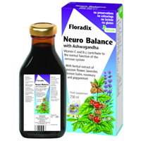 Floradix Liquid Neuro Balance with Ashwagandha - 250ml