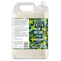 Faith in Nature Seaweed & Citrus Detoxifying Shampoo for All Hair Types Refill - 5 Litre