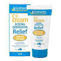 Grahams C+ Cream Eczema Dermatitis Relief - 120g