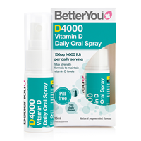 BetterYou DLux 4000 Daily Vitamin D Oral Spray - 15ml