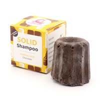 Lamazuna Solid Chocolate Shampoo for Normal Hair - 55g