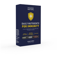 Higher Nature Daily Nutrients for Immunity - 28 Days Supply
