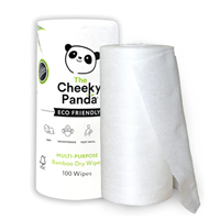 The Cheeky Panda Multi-Purpose Bamboo Dry Wipes - 100 Wipes