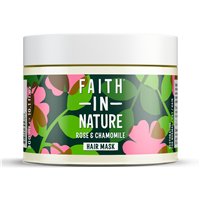 Faith in Nature Rose & Chamomile Restorative Hair Mask - 300ml