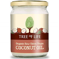 Tree Of Life Organic Raw Extra Virgin Coconut Oil - 500ml
