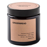 Mulieres Gingerbread Natural Candle - 120ml