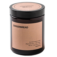 Mulieres Gingerbread Natural Candle - 180ml