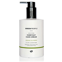 Green People Scent Free Everyday Hand Cream - 300ml