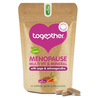 Together Menopause Whole Food Multi with Sage & Ashwagandha - 60 Vegicaps