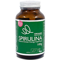 Health Elements Organic Spirulina Powder - 100g
