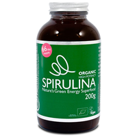 Health Elements Organic Spirulina Powder - 200g